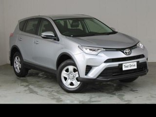 2016 Toyota RAV4 ZSA42R MY17 GX (2WD) Silver Sky Continuous Variable Wagon.