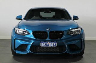 2018 BMW M2 F87 LCI Pure Blue 6 Speed Manual Coupe.