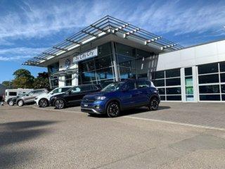 2020 Volkswagen T-Cross C1 MY21 85TSI DSG FWD Life Blue 7 Speed Sports Automatic Dual Clutch Wagon.