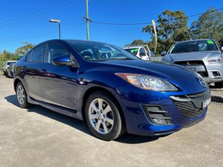 2010 Mazda 3 BL10F1 Maxx Sport Blue 6 Speed Manual Sedan.