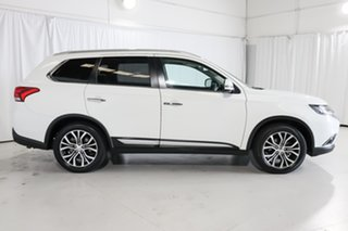 2017 Mitsubishi Outlander ZK MY17 Exceed 4WD White 6 Speed Constant Variable Wagon.