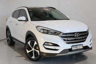 2017 Hyundai Tucson TLE2 MY18 Highlander AWD White 6 Speed Sports Automatic Wagon.