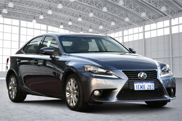 Used Lexus IS GSE30R IS250 Luxury Victoria Park, 2013 Lexus IS GSE30R IS250 Luxury Grey 6 Speed Sports Automatic Sedan