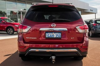 2015 Nissan Pathfinder R52 MY15 ST X-tronic 2WD Red 1 Speed Constant Variable Wagon