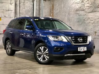 2017 Nissan Pathfinder R52 Series II MY17 ST X-tronic 2WD Blue 1 Speed Constant Variable Wagon.