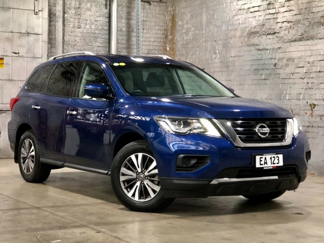 Used Nissan Pathfinder R52 Series II MY17 ST X-tronic 2WD Mile End South, 2017 Nissan Pathfinder R52 Series II MY17 ST X-tronic 2WD Blue 1 Speed Constant Variable Wagon