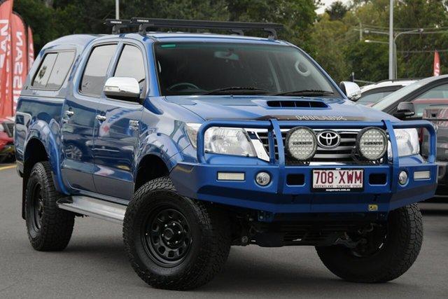 Used Toyota Hilux KUN26R MY14 SR5 Double Cab Aspley, 2014 Toyota Hilux KUN26R MY14 SR5 Double Cab Blue 5 Speed Manual Utility