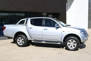 2014 Mitsubishi Triton MN MY15 GLX Double Cab Silver 5 Speed Manual Utility