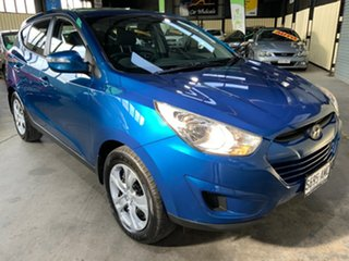2010 Hyundai ix35 LM Active (FWD) Blue 6 Speed Automatic Wagon.