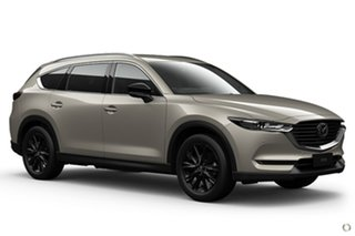 2021 Mazda CX-8 KG2WLA Touring SKYACTIV-Drive FWD SP Silver 6 Speed Sports Automatic Wagon