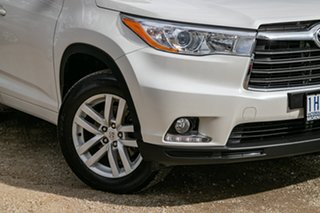 2014 Toyota Kluger GSU55R GX AWD White 6 Speed Sports Automatic Wagon.