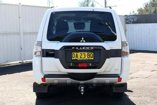 2014 Mitsubishi Pajero NX MY15 GLX White 5 Speed Sports Automatic Wagon