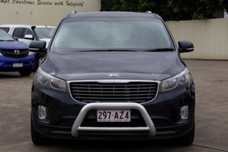 2015 Kia Carnival YP MY16 SLi Gravity Blue 6 Speed Sports Automatic Wagon