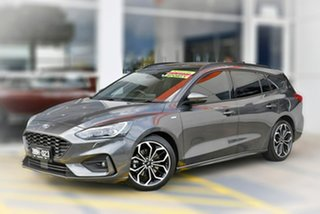 2018 Ford Focus SA 2019MY ST-Line Grey 8 Speed Automatic Wagon.