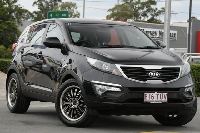 Used Kia Sportage SL Series II MY13 SI Aspley, 2013 Kia Sportage SL Series II MY13 SI Black 6 Speed Sports Automatic Wagon