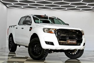 2017 Ford Ranger PX MkII MY17 Update XL 2.2 Hi-Rider (4x2) White 6 Speed Automatic Crew Cab Pickup.