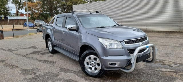 Used Holden Colorado RG MY14 LTZ Crew Cab Elizabeth, 2014 Holden Colorado RG MY14 LTZ Crew Cab Grey 6 Speed Sports Automatic Utility
