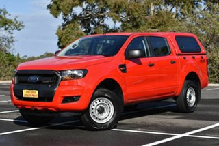 2017 Ford Ranger PX MkII 2018.00MY XL Red 6 Speed Sports Automatic Utility.
