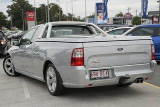 2012 Ford Falcon FG MkII XR6 Ute Super Cab Silver 6 Speed Manual Utility.