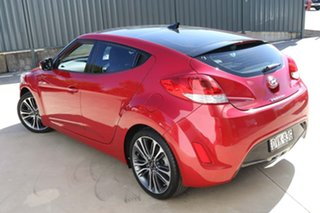 2016 Hyundai Veloster FS5 Series II Street Coupe Red 6 Speed Manual Hatchback.