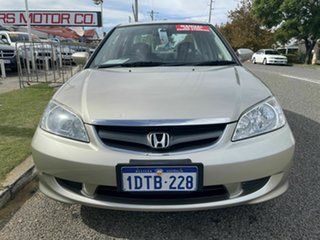 2005 Honda Civic 7th Gen GLi Silver 5 Speed Manual Sedan.