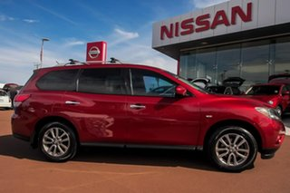 2015 Nissan Pathfinder R52 MY15 ST X-tronic 2WD Red 1 Speed Constant Variable Wagon.