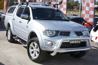 2012 Mitsubishi Triton MN MY12 GLX-R Double Cab Silver 5 Speed Sports Automatic Utility.