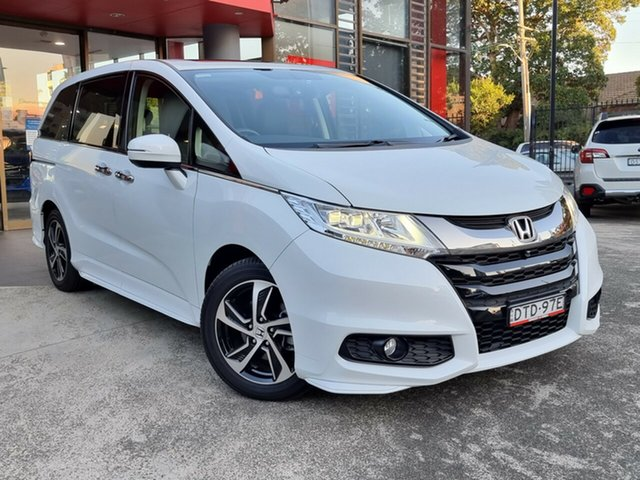 Used Honda Odyssey RC MY17 VTi-L Hornsby, 2017 Honda Odyssey RC MY17 VTi-L White 7 Speed Constant Variable Wagon
