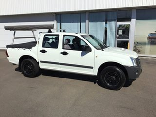 2009 Isuzu D-MAX MY09 SX 4x2 White 5 Speed Manual Utility.