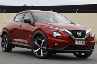 2020 Nissan Juke F16 ST-L DCT 2WD Fuji Sunset Red 7 Speed Sports Automatic Dual Clutch Hatchback.