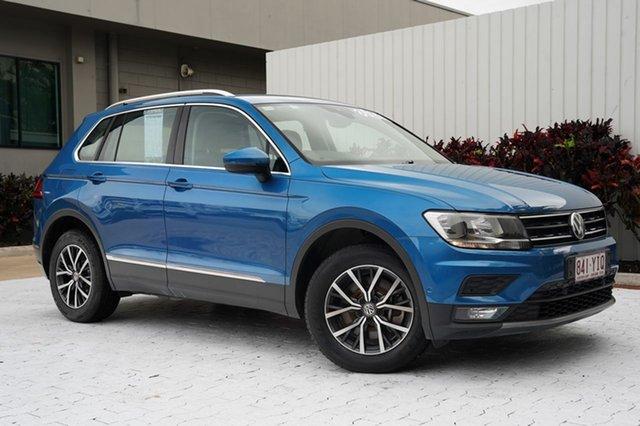 Used Volkswagen Tiguan 5N MY18 132TSI DSG 4MOTION Comfortline Cairns, 2018 Volkswagen Tiguan 5N MY18 132TSI DSG 4MOTION Comfortline Blue 7 Speed