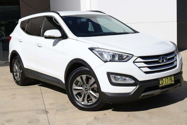 Used Hyundai Santa Fe DM2 MY15 Active Tuggerah, 2015 Hyundai Santa Fe DM2 MY15 Active White 6 Speed Sports Automatic Wagon