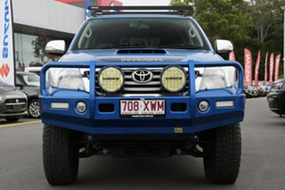 2014 Toyota Hilux KUN26R MY14 SR5 Double Cab Blue 5 Speed Manual Utility