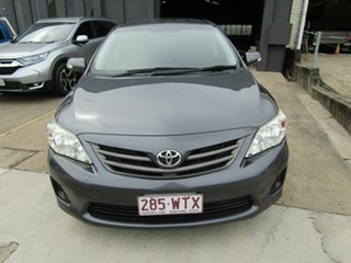 2012 Toyota Corolla ZRE152R MY11 Ascent Grey 4 Speed Automatic Sedan