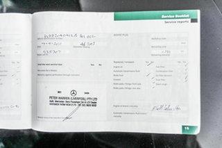 2008 Mercedes-Benz C-Class W204 C200 Kompressor Classic Black 5 Speed Sports Automatic Sedan