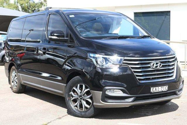 Used Hyundai iMAX TQ4 MY19 Elite North Gosford, 2019 Hyundai iMAX TQ4 MY19 Elite Black 5 Speed Automatic Wagon