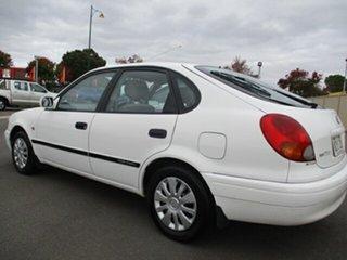 2001 Toyota Corolla AE112R Ascent White 4 Speed Automatic Liftback