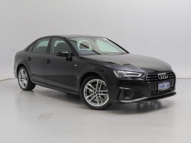 Used Audi A4 8W MY19 40 TFSI S Tronic Sport, 2019 Audi A4 8W MY19 40 TFSI S Tronic Sport Black 7 Speed Auto Dual Clutch Sedan