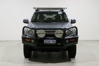 2013 Isuzu D-MAX TF MY12 LS-M HI-Ride (4x4) Grey 5 Speed Manual Crew Cab Utility.
