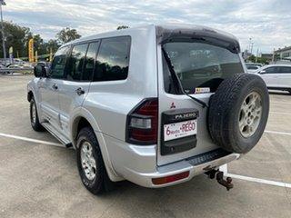 2000 Mitsubishi Pajero NM GLX LWB (4x4) Silver 5 Speed Auto Sports Mode Wagon