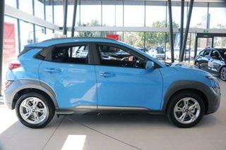 2021 Hyundai Kona Os.v4 MY21 Elite 2WD Surfy Blue 8 Speed Constant Variable Wagon.