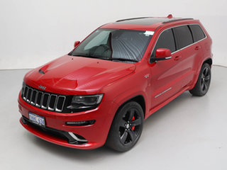 2015 Jeep Grand Cherokee WK MY15 SRT 8 (4x4) Red 8 Speed Automatic Wagon
