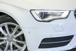 2015 Audi A3 8V MY15 Attraction Sportback S Tronic White 7 Speed Sports Automatic Dual Clutch.