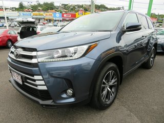 2019 Toyota Kluger GSU55R GX AWD Blue 8 Speed Sports Automatic Wagon.
