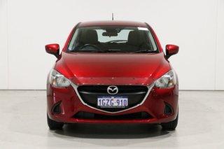 2019 Mazda 2 DJ Neo (5Yr) Red 6 Speed Automatic Hatchback.