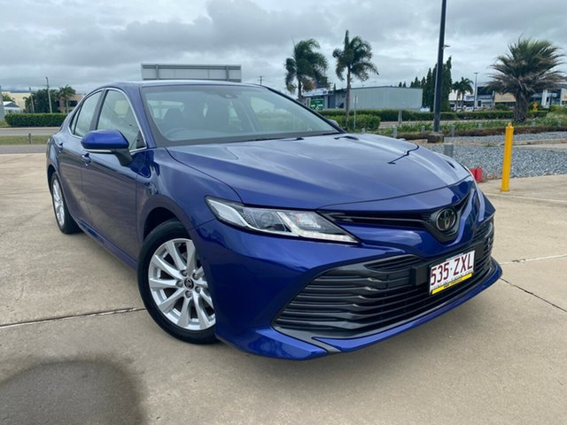 Used Toyota Camry ASV70R Ascent Townsville, 2019 Toyota Camry ASV70R Ascent Blue 6 Speed Sports Automatic Sedan