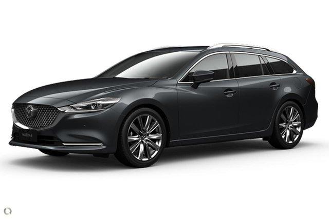 New Mazda 6 GL1033 Atenza SKYACTIV-Drive Waitara, 2021 Mazda 6 GL1033 Atenza SKYACTIV-Drive Grey 6 Speed Sports Automatic Wagon