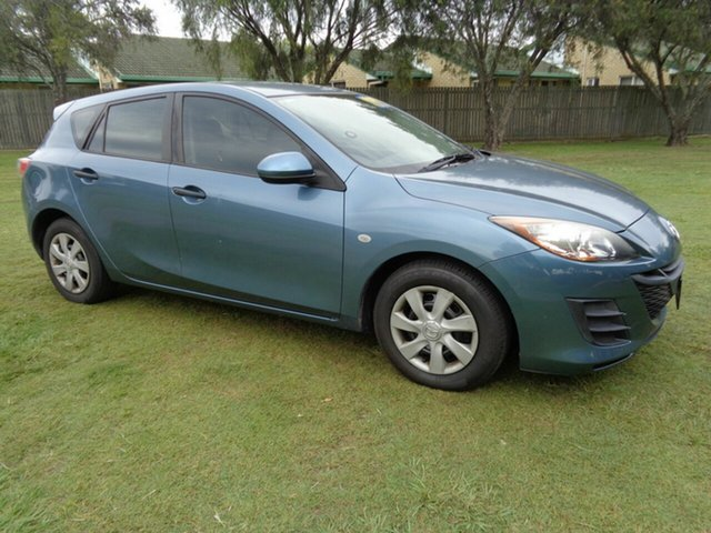 Used Mazda 3 BL10F1 MY10 Neo Kippa-Ring, 2011 Mazda 3 BL10F1 MY10 Neo Blue 6 Speed Manual Hatchback