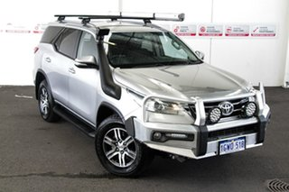 2016 Toyota Fortuner GUN156R GXL Silver Sky 6 Speed Automatic Wagon.