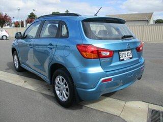 2012 Mitsubishi ASX XB MY13 Aspire 2WD Blue 5 Speed Manual Wagon.